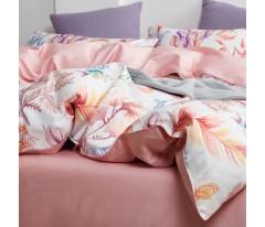Комплект постельного белья Сатин Премиум CPA012 Евро наволочки 50-70