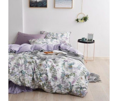 Комплект постельного белья Сатин Премиум CPA011 Евро наволочки 50-70