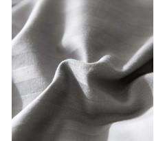 Постельное белье Однотонный страйп-сатин CR006 Евро 4 наволочки