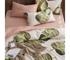 Комплект постельного белья Сатин Премиум CPA002 Евро наволочки 50-70