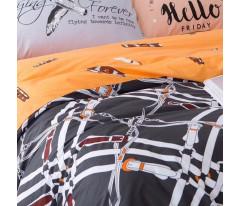 Комплект постельного белья Сатин Премиум CP001 Евро наволочки 50-70