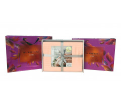 Постельное белье Однотонный страйп-сатин на резинке CFR004 2 спальный 4 наволочки