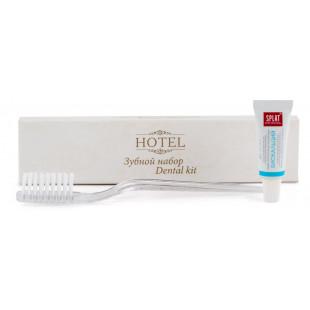 """Зубной набор """"Hotel"""" в упаковке флопак (зубная щетка + зубная паста, тюбик 4 гр.)"""