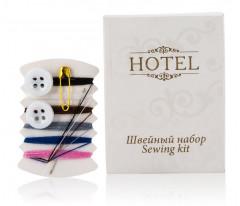 """ОПТ Швейный набор в картоне, серия """"Hotel""""/500 шт."""