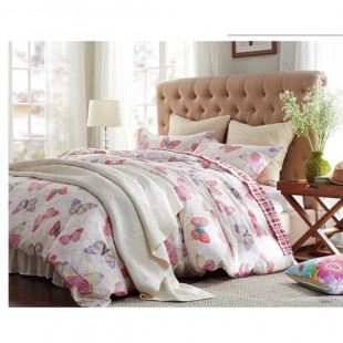Комплект постельного белья из сатина Valtery C-170