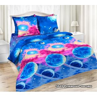 """Комплект постельного белья """"Галилео"""" Рождение звезды.  Поплин"""