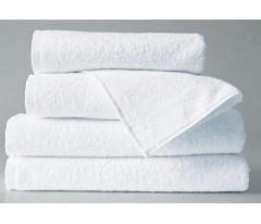 Полотенце махровое белое 50*90