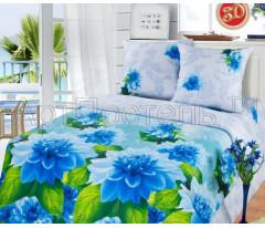 Постельное белье «Артпостель» Герцог (крупные голубе цветы)