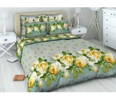 «Василиса» Рис.4315 французкий аромат ( белые розы на голубом)
