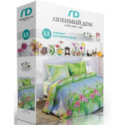 Постельное белье. «Любимый Дом 3D» Ромашки