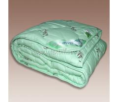 """Одеяло """"бамбук"""" зеленое, облегченное, верх -сатин"""