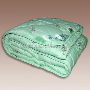"""Одеяло """"бамбук"""" зеленое, облегченное"""