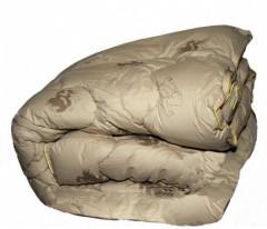 Одеяло зимнее из верблюжьей шерсти, Ткань чехла - ТИК 100% хлопок