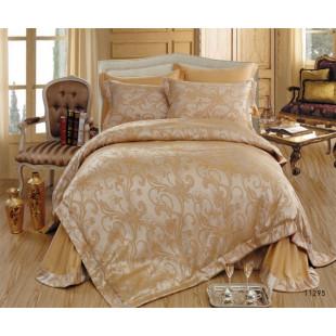 Постельное белье Сатин-Жаккард «Ромео и Джульетта» 11295 Крем-брюле