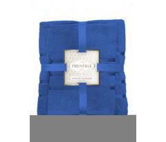 Комплект из 2х махровых полотенец (50х80;70х130) ТМ Престиж в п/у бирюза