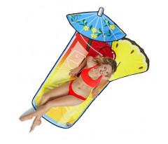 Покрывало пляжное Tropical Drink, размер 151х184 см, микрофибра BigMouth