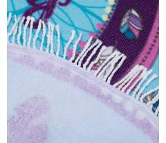 "Полотенце пляжное ""Этель"" Sweet Dreams 120х120 см, микрофибра 220 гр/м2"