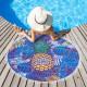 """Полотенце пляжное """"Этель"""" Hello Summer 120х120 см, микрофибра 220 гр/м2"""