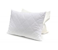 """Подушка """"Лебяжий пух"""" стеганная в микрофибре белая или однотонная цветная"""